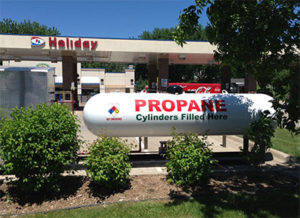 Resale - Retail propane Dispenser Gas